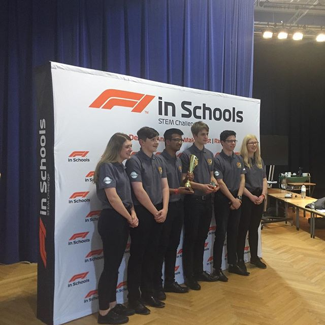Thank you @f1inschoolsuk for letting us join your team today and judge at the Scottish Regional Final. It was so nice to see the F1 In Schools UK team again, we missed you! We were so impressed by all of the teams representing Scotland this year. Well done to everybody who competed, you were all fantastic. And good luck to all of the teams who have qualified for Nationals. Feel free to get in touch with us if you would like some advice from ex-competitors. It was a pretty strange experience to be judging rather than competing today but it was really fun, hopefully we can do it again!  #f1inschools #f1is #scotland