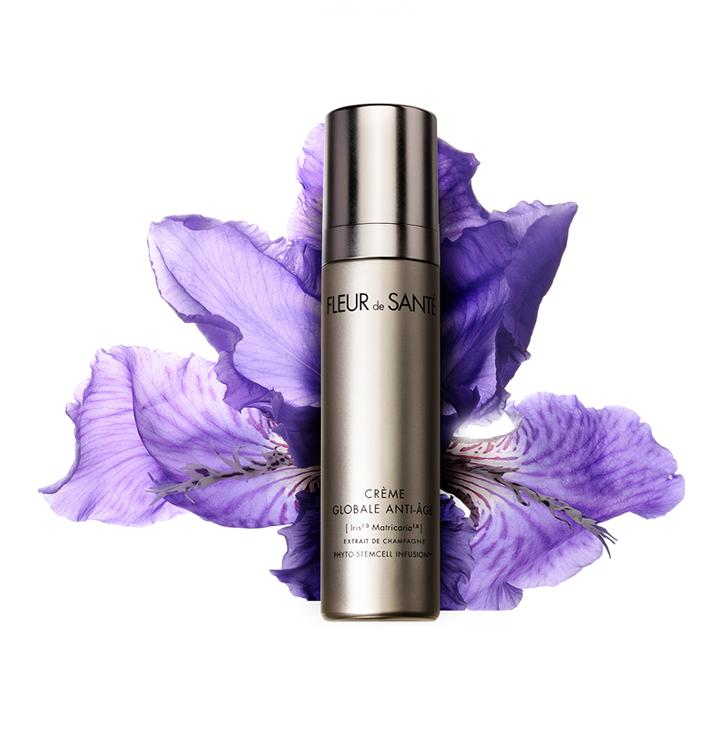 GLOBAL ANTI-AGING REGENERATING DAY & NIGHT CREAM - A multi-action anti-aging cream based on the exclusive active ingredients of [Iris Matricaria] Extrait de Champagne Phyto-StemCell Infusion™ with antioxidant properties. This soft textured formula is proven to instantly rejuvenate the skin by boosting radiance, leaving it more youthful looking with a smooth, wrinkle-free complexion and firmer contours. With cosmetic wine extract from Champagne.