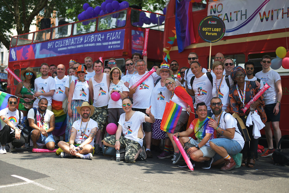 Pride in London 2018 - I've already been lucky enough to feature in two Pride in London parades; one in 2016 with HSBC and with NHS GSTT (Guys & St Thomas LGBT Forum) 2018. I was fortunate to be GSTT's official Pride photographer on the day, I had an overwhelming experience.