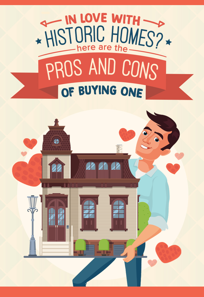 In Love With Historic Homes? Here Are The Pros And Cons Of Buying One