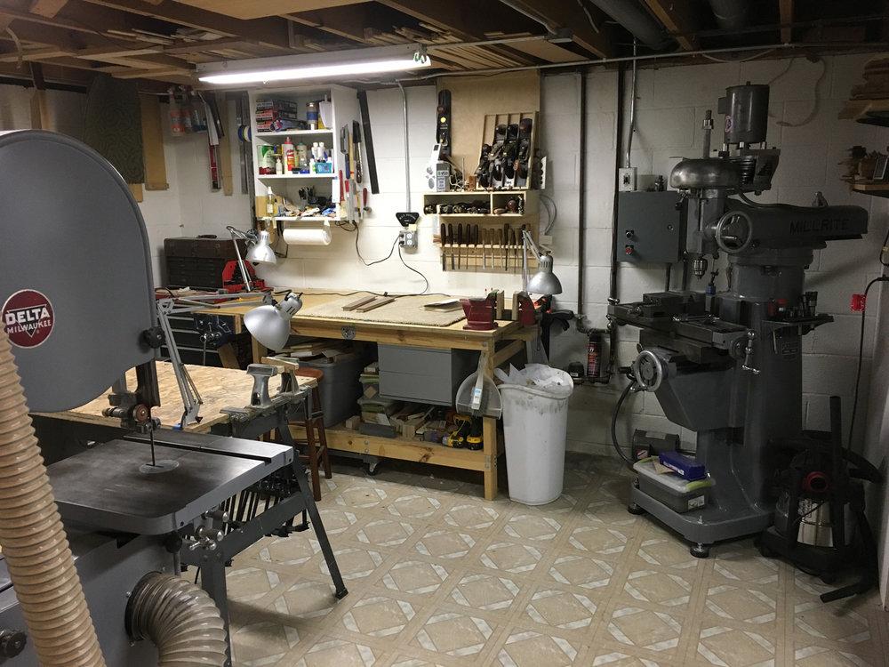 Cleveland OH, USA. Studio