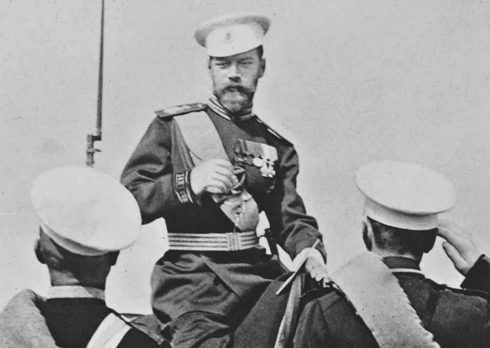 Tsar Nicholas II, initiator of the Hague Peace Conference 1899