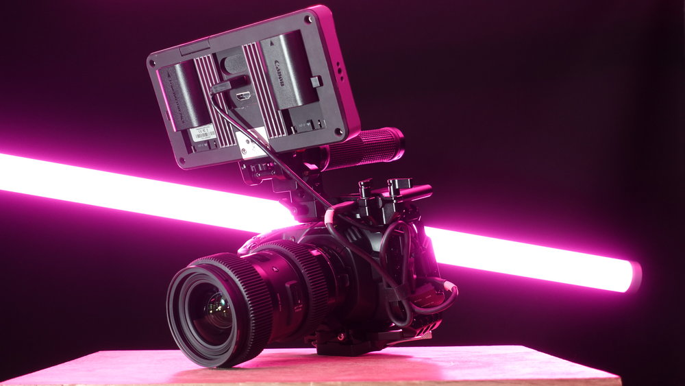 CAMERAS AND LENSES - We rent cinema and mirrorless cameras and all the glass to go with it.
