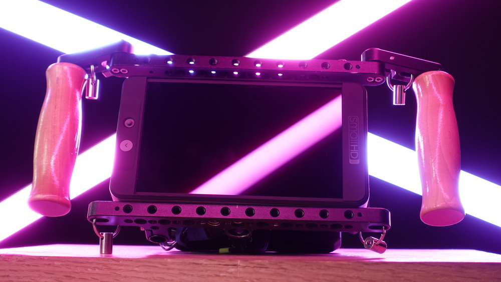 """MONITORS AND WIRELESS VIDEO - We have a range of 5"""" to 26"""" monitors along with wireless transmitters and receivers to ensure that everyone who needs to see picture gets to."""