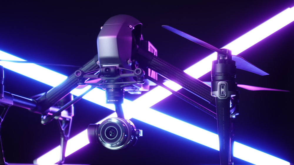 AERIAL IMAGING - We offer a complete line of DJI drones, suited for every type of production.