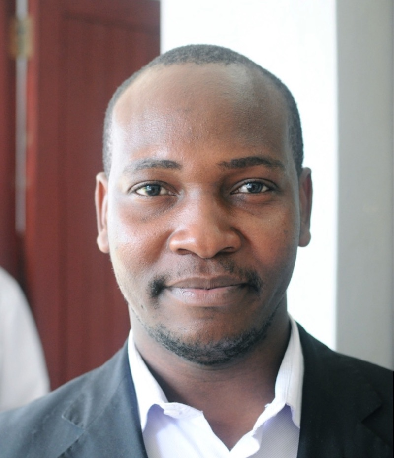 Harrison Kaingu, Head of Kinondo Kwetu health services