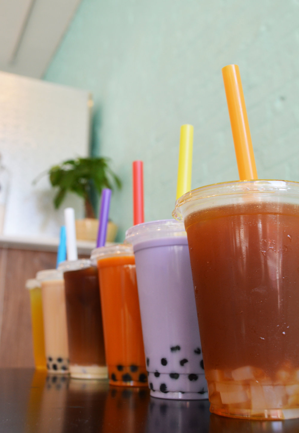 Our Bubble Teas