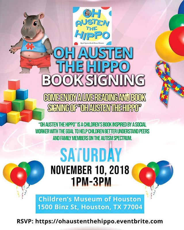 Mark your calendar!! And get your copy!!😊 #autism #autismmom #childrensbooks#autismdad #autismfamily #autismacceptance #speechtherapy#socialworker #socialmediamarketing #houston #texasmedicalcenter #education