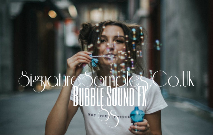 bubble sounds and effects signature samples royalty free music