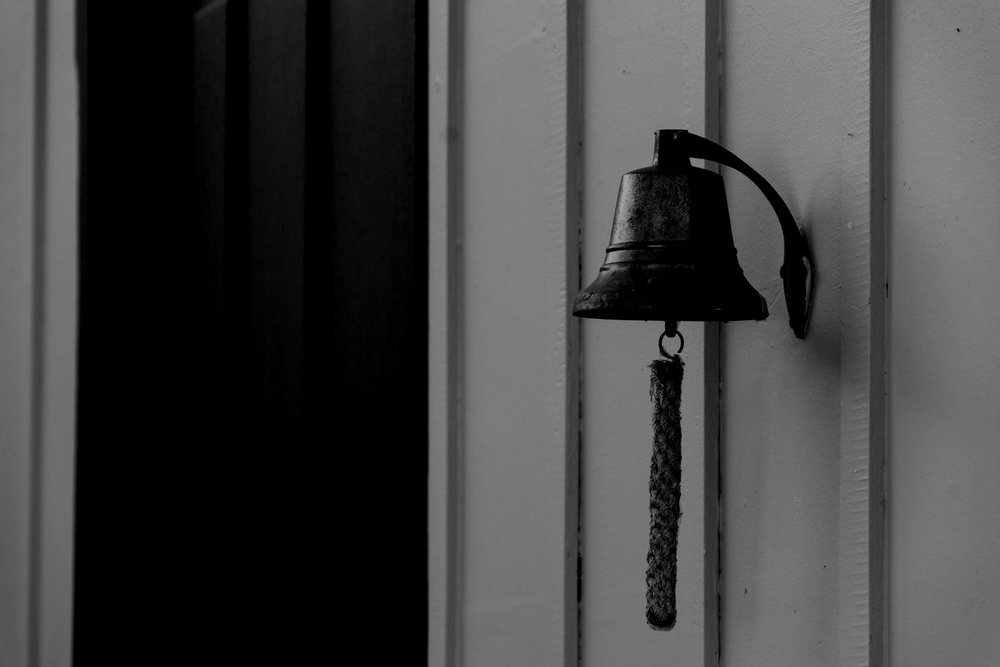 Lone Bell Chime - Soundscape (5 Min+) - An abstract take on a vintage bell chime echoing into the unknown. This soundscape portrays nostalgia but also creates a sense of uneasiness as the sound starts to fade away over time.