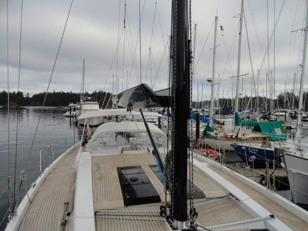 Hanse 575 - GMT Pocket Boom and Carbon Mast