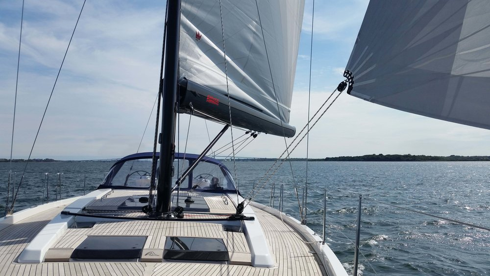 Hanse 575 - GMT PowerFurl Boom and Carbon Mast