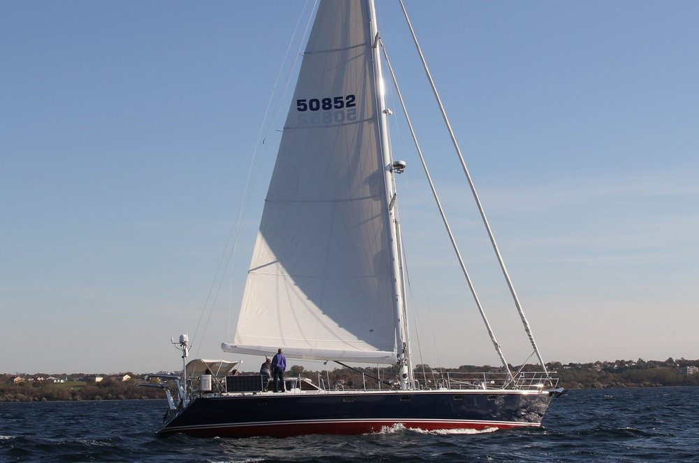 Pilgrim  - Able 58' - GMT Carbon Mast and PowerFurl Boom