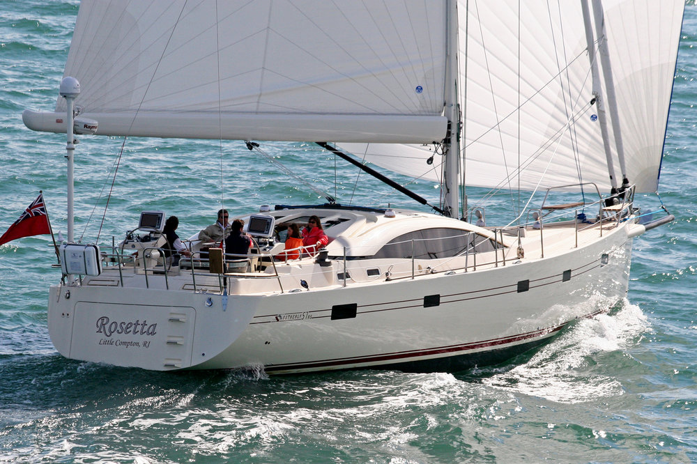 Rosetta -  Southerly 57' - GMT Carbon Mast and PowerFurl Boom