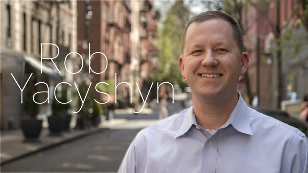 Executive in Charge of Production  — Robert Yacyshyn loves to make television and tell stories. A graduate of Penn State University, Rob started his career at MTV working on such hit projects as TRL: Total Request Live, the VMA's and Run's House. Some of his proudest work at MTV was on MADE, for which he worked on eight seasons winning three Daytime Emmy Awards in the process. In 2010, he earned his MBA from Columbia University and began to moonlight at One Louder Productions as the resident Line Producer. He grew into the Executive in Charge of Production (EIC) for One Louder, managing all logistical, financial and legal details for the company. In 2014, One Louder formed a partnership with Follow Productions and Rob signed on to serve as EIC of both entities. Rob enjoyed working on food & lifestyle programming but when McGee Media offered a return to longer form storytelling Rob had no choice but to accept. Rob couldn't be happier and is excited to see what the future holds at McGee.