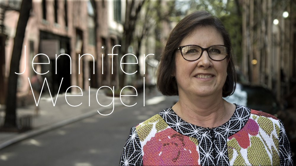 Finance Manager  — Jennifer Weigel graduated from Brown University with a degree in History in 1986 and obtained her MBA from New York University's Stern School of Business in 2004. She was a Vice President in Citibank's International Private Banking division, supporting Private Bank clients in Europe and Latin America. After leaving Citibank to live for several years in Alaska and Oregon, Jennifer opened her own bookkeeping and accounting practice back on the East Coast, with small business clients in municipal and not-for-profit enterprises, sole proprietors and retail and real estate businesses. She has been responsible for McGee Media's financial transactions and payroll full-time since 2016.