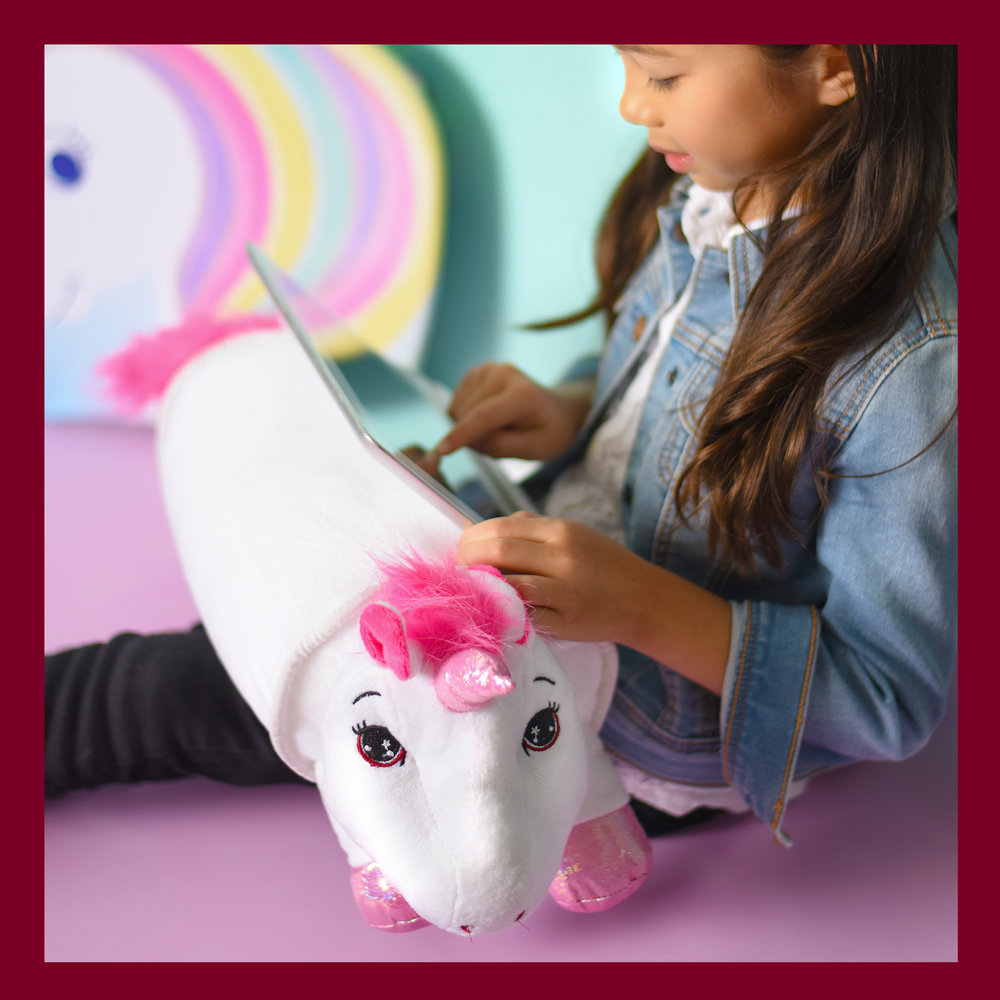 Lap Pets Tablet Pillow, Unicorn