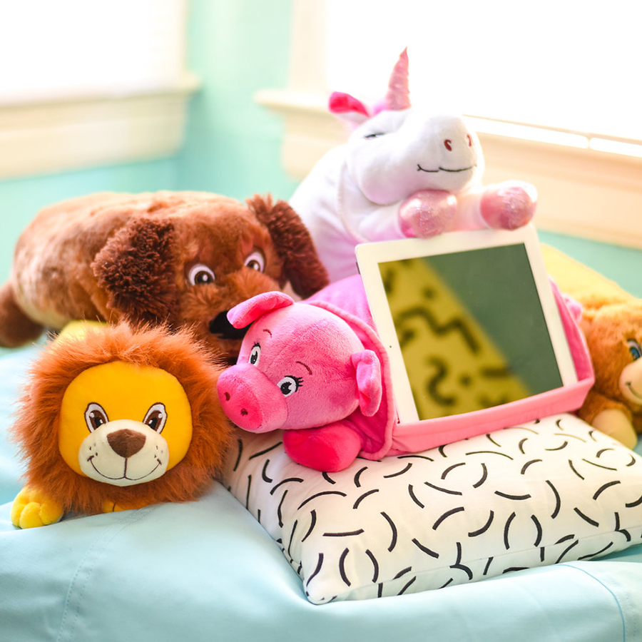 Cuteness Overload - Cuddly favorites you can't ignore. Shop the 3-in-1 Lap Pets® Tablet Pillows for endless fun.