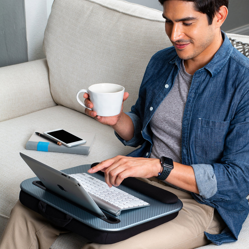 Smart Designs - Work smarter and comfortable with our Media lap desks.