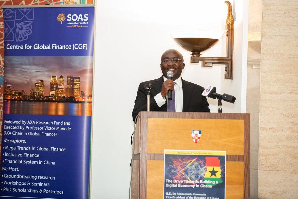 H.E. Dr Mahamudu Bawumia, Vice-President of the Republic of Ghana
