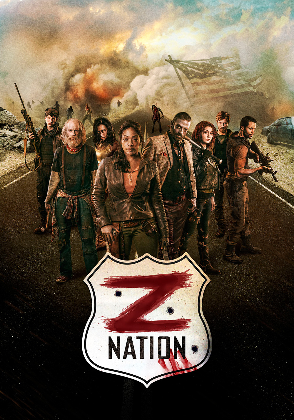 Z Nation: Seasons 2-5 (SyFy, Netflix)