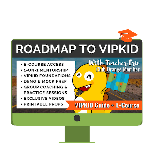 image regarding Vipkid Dino Printable identified as ROADMAP: Contracts/Profiles/Further than! My VIPKid Vacation