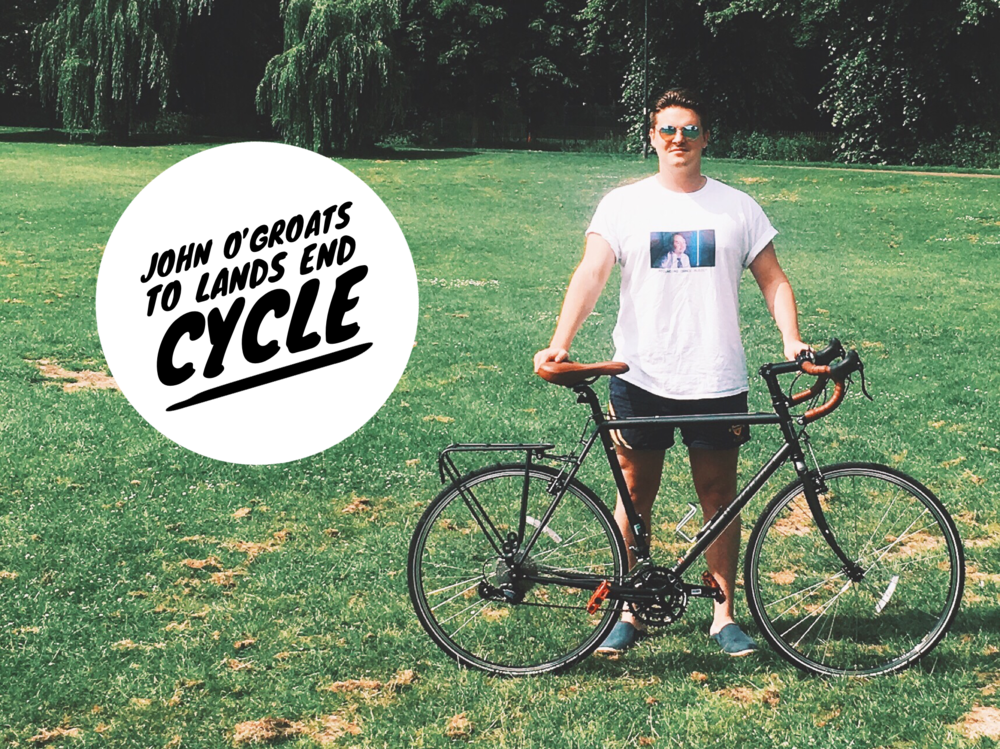 Joe Miles is Cycling in memory of Alex Evans.  Cycling the true end-to-end, hoping to average about 80 miles a day from August 10th to 23rd, Joe will be raising funds in memory of Alex.  To learn more about it and to support Joe's incredible effort, and go to his fundraising page below.