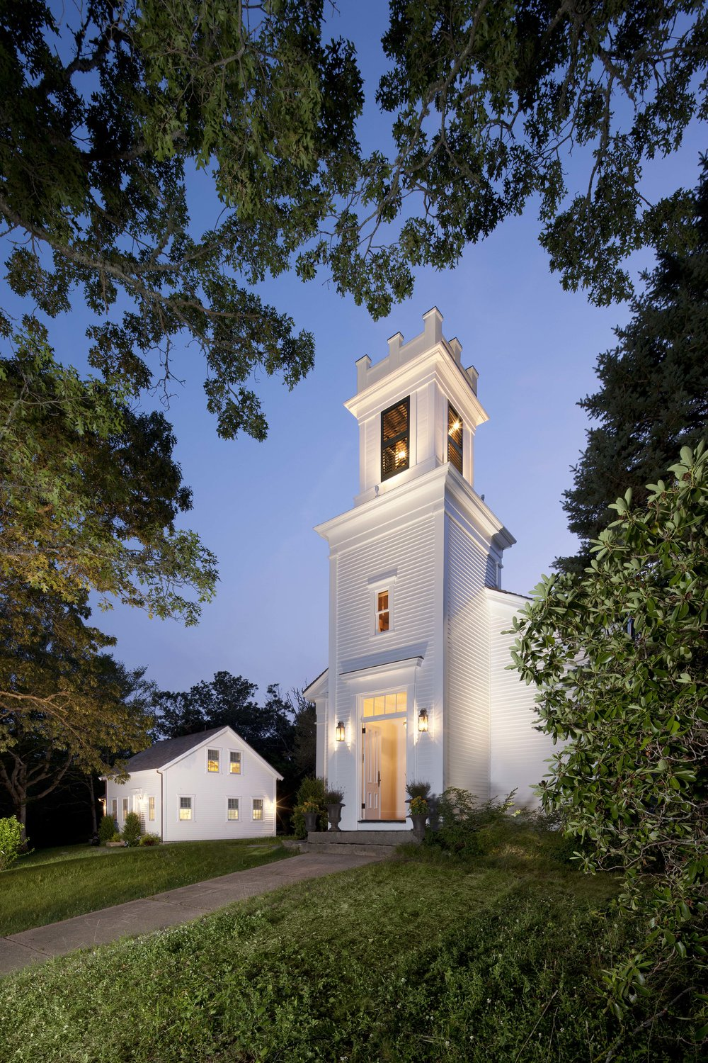 Historic 1840's Church restoration, residential conversion.