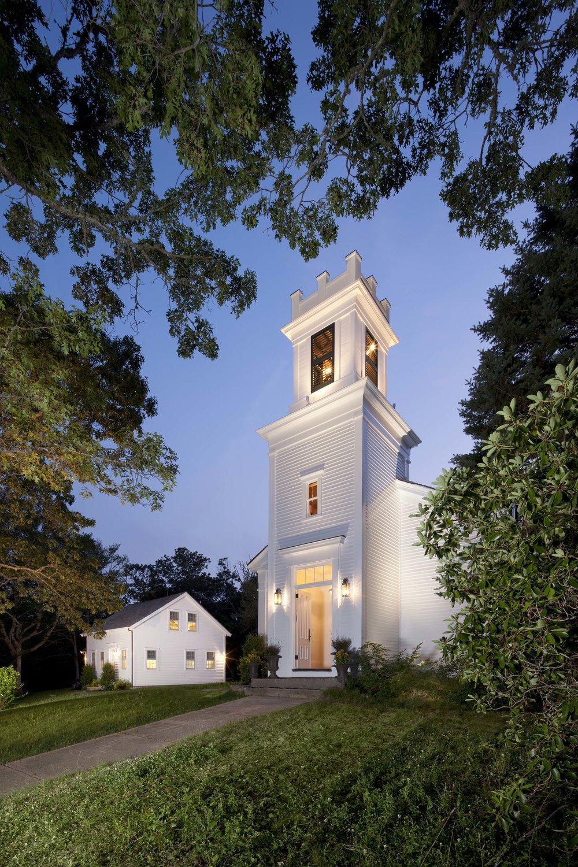 Historic 1840's Church restoration, residential conversion.