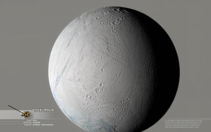 Wallpaper: Enceladus