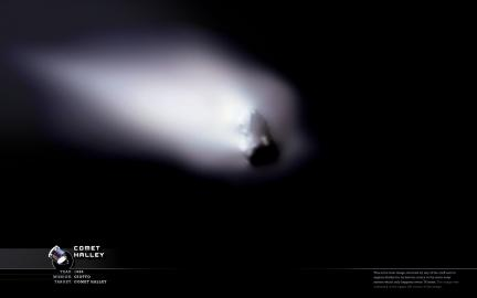 Comet Halley Wallpaper