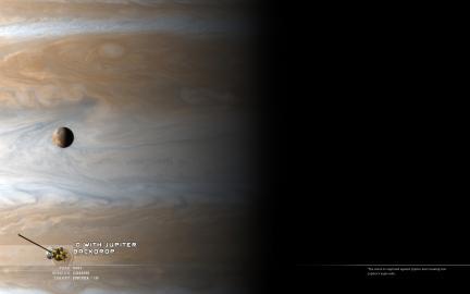 Io on Jupiter
