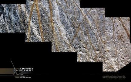 Wallpaper: Europa Fractures