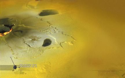 Wallpaper: Calderas on Io
