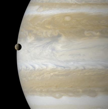 Io on Jupiters Edge