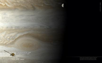 Wallpaper: Europa and the Eye of Jupiter