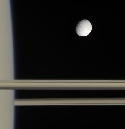 Tethys on a Hazy Limb