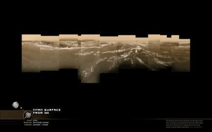 Wallpaper: Titan From 18km
