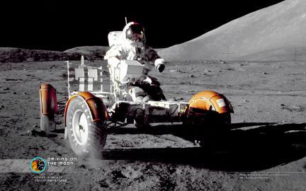 Wallpaper: Lunar Drive
