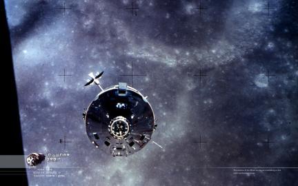 Wallpaper: Lunar Orbit