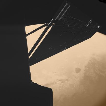 Rosetta at Mars 2007 Portview