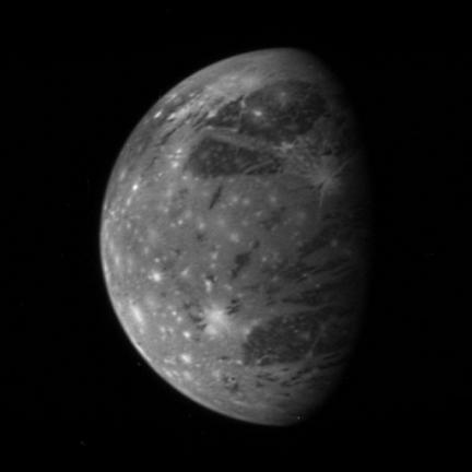 New Horizons sees Ganymede