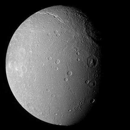 High Resolution Composite of Dione