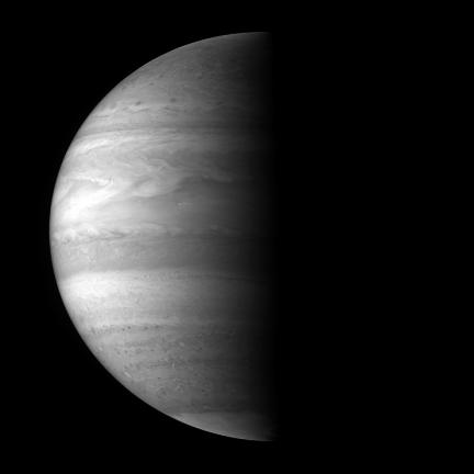 Monster Sized Monochrome Image of Jupiter