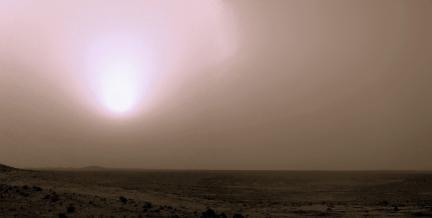 Martian Dust Storm 01