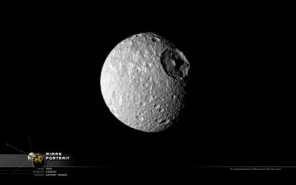 Wallpaper: Mimas Portrait