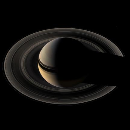 The Unlit Saturn