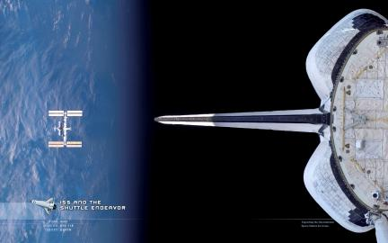 Endeavor Departs ISS