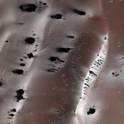 Unusual Stains on Mars