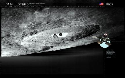 Smallsteps Wallpaper: Lunar Orbiter 3
